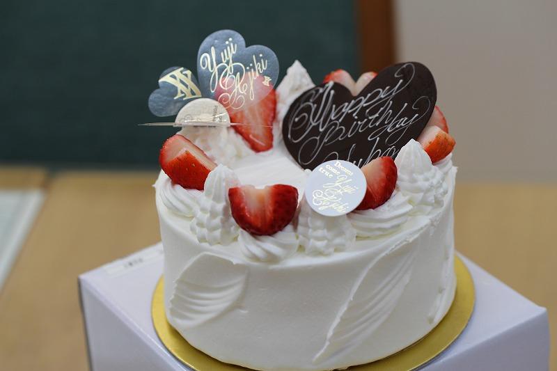 ユウジアジキのケーキ